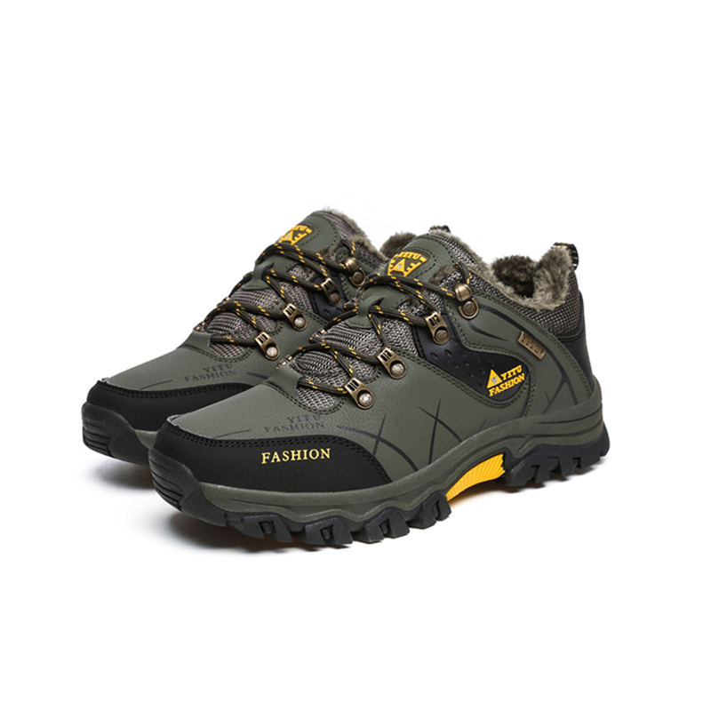 2019 New Hot Style Men's Hiking Shoes Winter Outdoor Climbing Shoes Mountain Sport Boots Non slip Trekking Sneakers