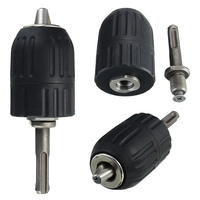 2 13mm Keyless Impact Drill Chuck Hand Tool With Lock And SDS Adaptor|Hand Tool Sets| |  -