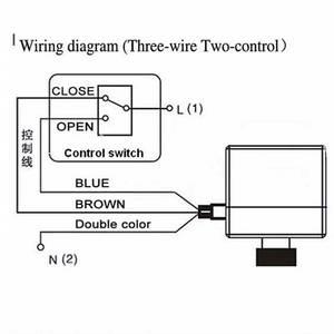 Image 3 - Válvula de bola de latón DN15 / DN20 / DN25 eléctrica motorizada de 2 vías, DN20, CA de 220V, cable de 3 vías con actuador para gas, agua petróleo