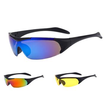 GIZA okulary rowerowe MTB okulary rowerowe okulary do biegania wędkarstwo sportowe okulary przeciwsłoneczne rowerowe okulary rowerowe mężczyźni kobiety tanie i dobre opinie Gizaboss UV400 protection 37mm 9207 MULTI 131mm Poliwęglan Unisex