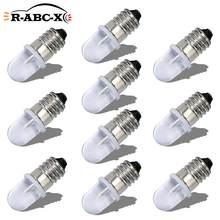 RUIANDSION – ampoule Led E10 F5 AC 220V-230V, 6000K 4300K, blanc chaud, vis de remplacement, lampes domestiques Non polaires, 10 pièces