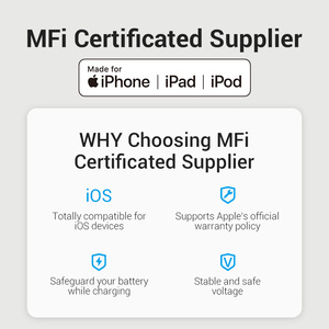 Image 2 - Vention MFi USB Type C Cable for iPhone 12 mini 11 8 Plus PD 18W Fast USB C to Lightning Cable for iPad USB C Charger Data Cable