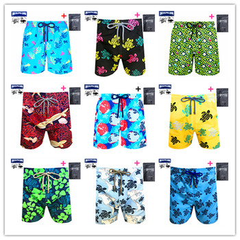 Hot Sale 2021 Classic Brand Men Swimwear Brevilepullquin Beach Boardshorts Adult Turtles Sportswear Spring Summer 900 Colors