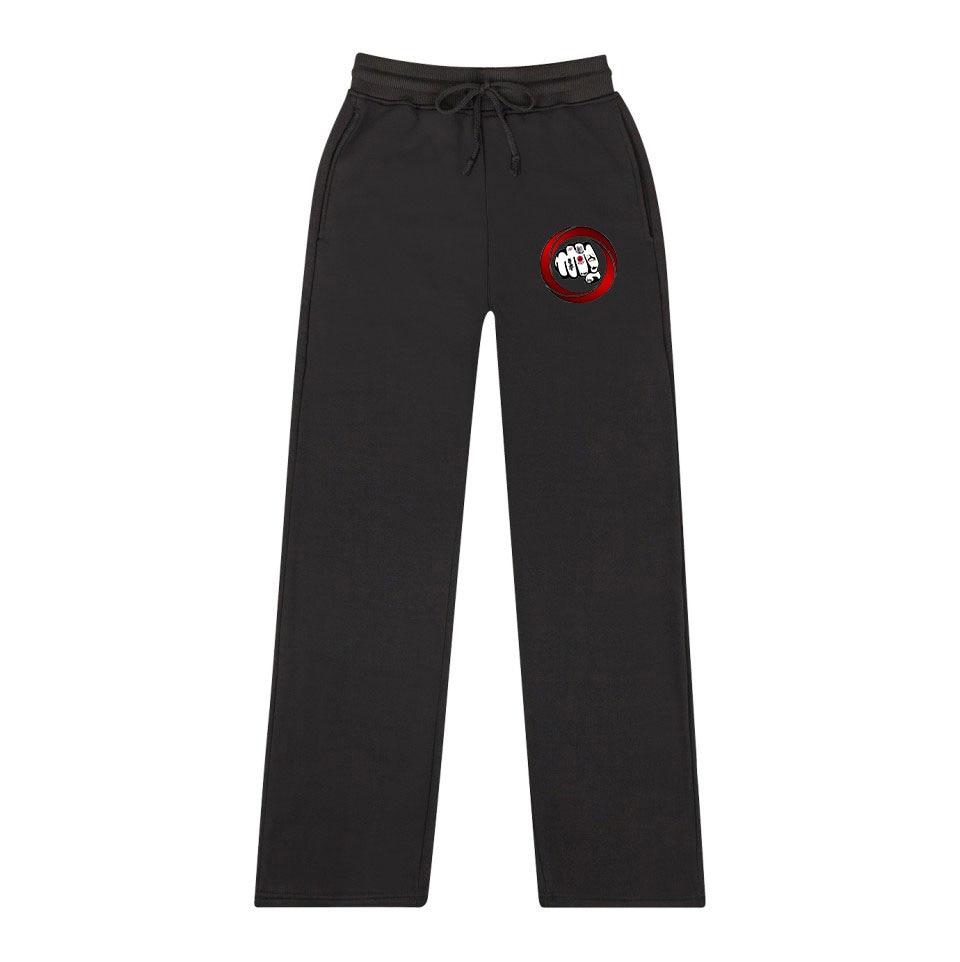 2019 New Style Hot Sales Kyokushin Karate Association Europe And America Fashion Casual Men And Women-Sweatpants