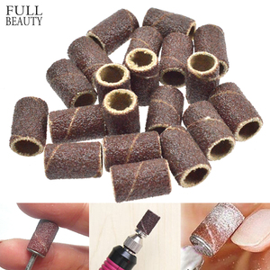 50/100pcs Nail Drill Sanding Bands Manicure Pedicure Nail Electric Drill Machine Grinding Remover Cutter Nail Accessorie CHND261