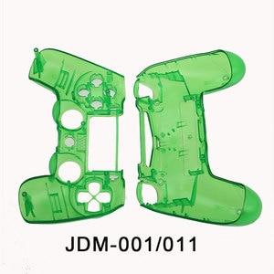 Image 2 - Jcd ps4 controlador personalizado limpar completo habitação gamepad caso botões capa kit substituição para sony playstation 4 v1