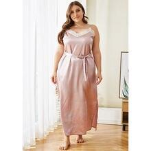 Doib пижамы большого размера для женщин розовый искусственный