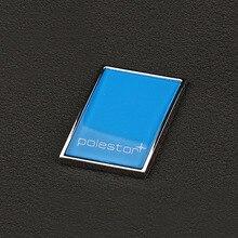 R-DESIGN 3D наклейка Polestar с логотипом, крышка багажника, помеченная аксессуарами, вывеска из цинкового сплава для Volvo Polestar, наклейка