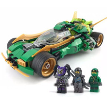 2017 new kazi 4pcs building blocks wolf tooth field team militray army weapons compatible with legoe solider bricks toys 570PCS Mirage Ninja Chariot Ninjagoed Building Blocks With Weapons Kids Toys For Kids Gifts Compatible Lepining