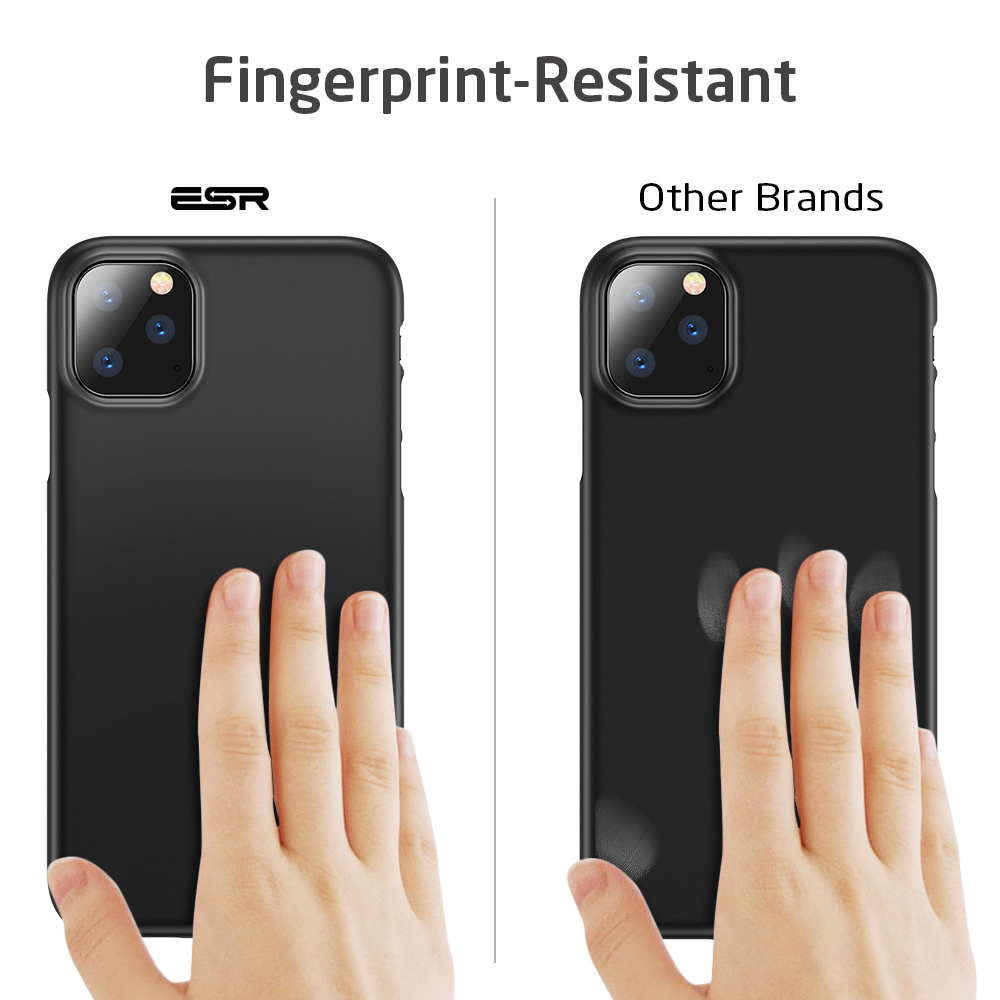 H6980487eed7b47e7b7d03bdcb99aaa2bC ESR Case for iPhone 11 Pro Max 2019 Simple Protect Case Green Black Grip Brand Shockproof Protective Cover for iPhone11 iphon