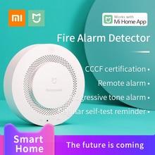 Xiaomi Mijia Honeywell Fire Alarmเครื่องตรวจจับควันเซ็นเซอร์Mi Smart Home Multifunction GATEWAY 3 ทำงานMiบ้านMijia APP