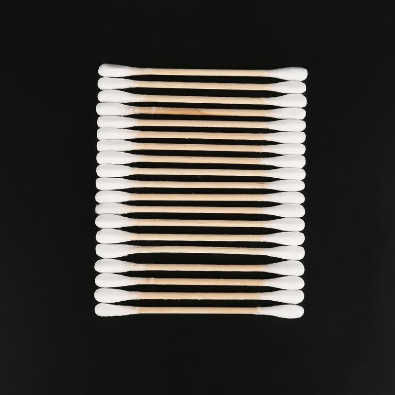 Cotton Swabs Double Tipped Highly Absorbent Hygienic Makeup Cotton Swabs 100pcs Health Cleaning Tool