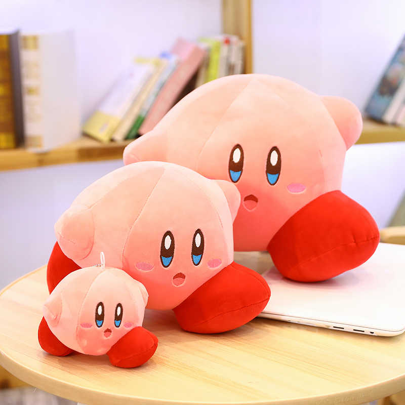 Kirby Adventure Plush Soft Doll Large Stuffed Animals Toys Child Gift Home Decor