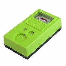 1,55 V и 3V кнопка проверки батареи тестер Зеленый продвижение