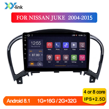цена на Car radio Android Multimedia video Player For NISSAN JUKE 2004-2015 GPS Navigation system accessories bluetooth no 2 din dvd dvr