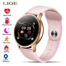 Moda zegarek kobiety Sport zegarki elektroniczny ekran LED kolorowy mężczyzna panie inteligentny zegarek dla androida IOS zegar kobieta zegarek