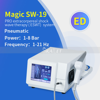 2020 New Technoligy 8 Bar Pneumatic Shockwave therapy Physiotherapy shock wave for ED Treatment