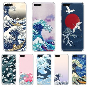 Чехол для телефона Kanagawa Surfing Japan, Прозрачный чехол для HUAWEI honor mate 7A 8S 8X 9 9X 10 20 30 pro lite