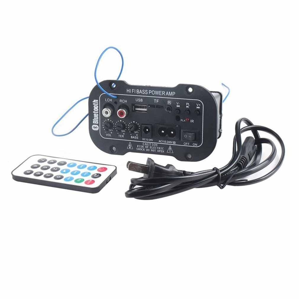 220V Auto Bluetooth Verstärker Hallo-fi Bass Power Verstärker Bord für Auto Autos Audio TF-Player USB Kleine Verzerrung Subwoofer