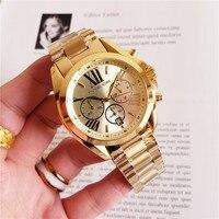 michael korsss Quartz Wrist Dress Women Watches Silver Bracelet Ladies Watch Stainless Steel Clock Casual Waterproof Watch