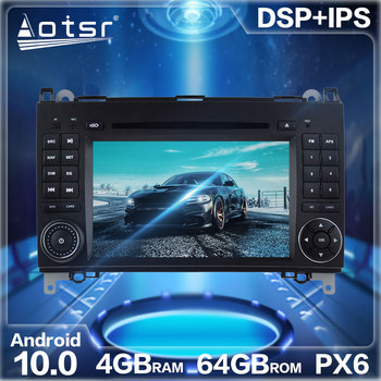 Android 10.0 Car Radio GPS Navigation DSP For Mercedes Benz B200/B-class/W245/B170/W169 Car Auto Stereo Video Multimedia Player image