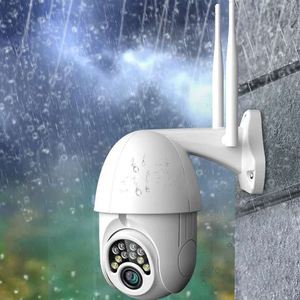 Image 5 - V380 PTZ Wifi IP Camera 1080P Speed Dome 4 white light with 8 IR light Two way Audio P2P Waterproof Network CCTV Security Camera