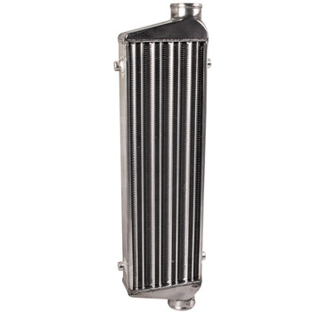 """Universal  2.5"""" In/Outlet Aluminum Front Mount Loght Weight Intercooler 27'' x 7'' x2.5''"""