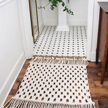 Nordic Cotton Mat Bohemian…