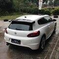 VOTEX style Scirocco спойлер для крыла заднего крыла из углеродного волокна для Volkswagen VW Scirocco 2010 ~ 2014 (не для R)