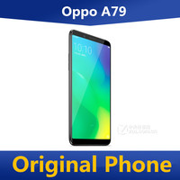 """DHL Fast Delivery Oppo A79 4G LTE Cell Phone Fingerprint 16.0MP+16.0MP 6.01"""" Screen 4GB RAM 64GB ROM MTK6763T Octa Core GPS 1"""