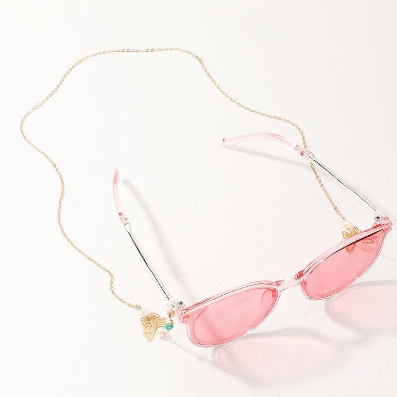 Women's Eyeglass Chains Sunglasses Reading Glasses Chain Butterfly Rope  Holder Fashion Chic Eyewear Neck Strap 2020 new|Eyewear Accessories| -  AliExpress
