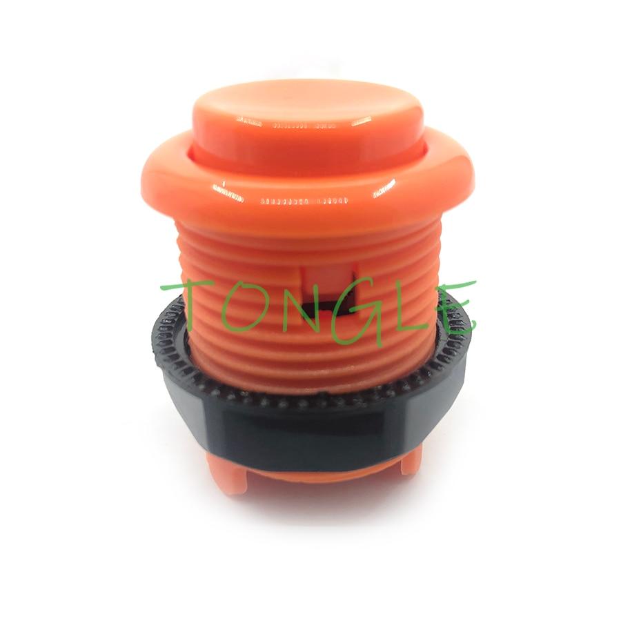 50 шт. Американский Стиль короче вогнутая Кнопка Аркады кнопки 28mm монтажное отверстие Американский Happ Кнопка Rettro игрового автомата части
