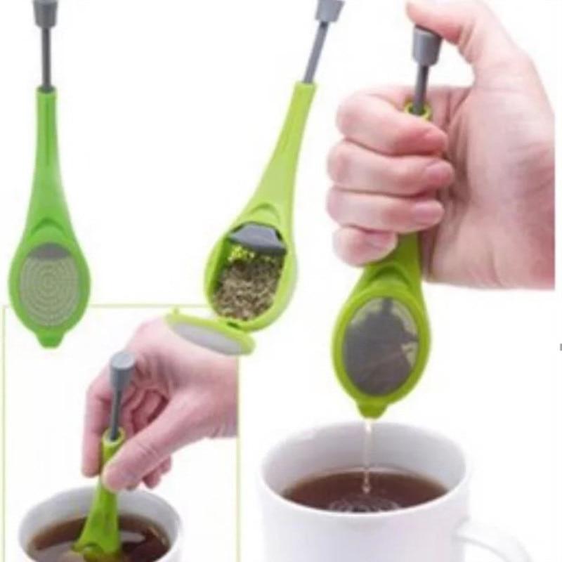 1 шт., пластиковый ситечко для заваривания чая и кофе