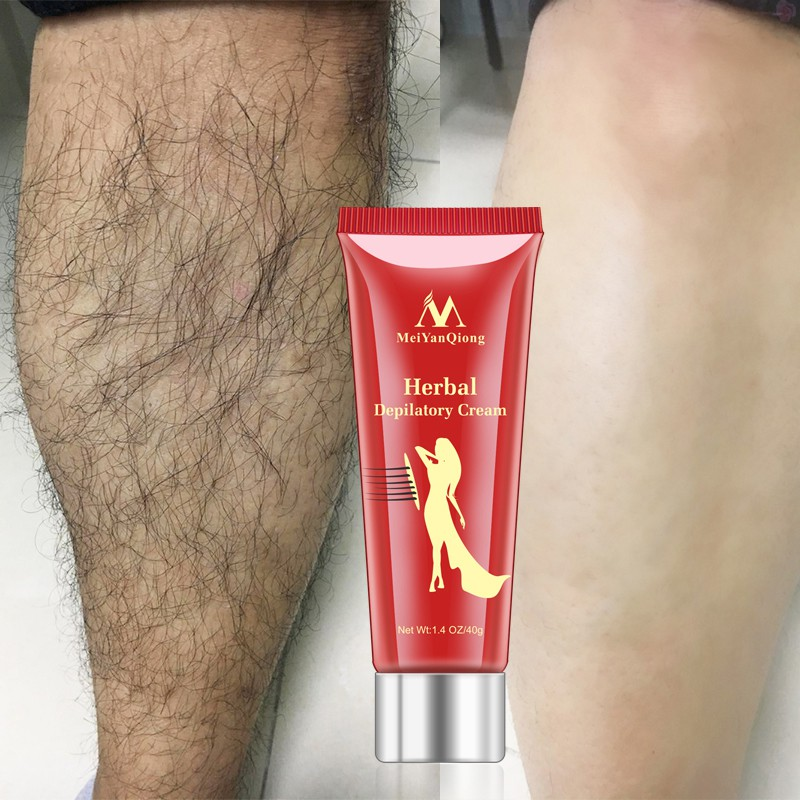 Herbal Hair Removal Cream Waterproof Ginseng Painless Depilatory Hair Removal Depilatory Cream For Body Leg Armpit