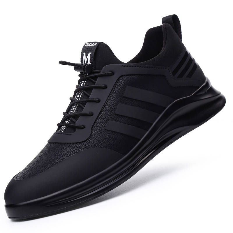 Damyuan Men's Running Shoes Breathable Comfortable Casual Height Increasing Man Sneakers Non-slip Wear-resisting Men Sport Shoes