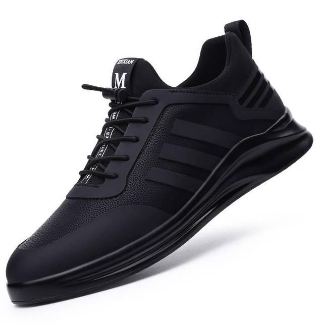 Damyuan รองเท้าวิ่งชายรองเท้าสบายๆความสูงเพิ่มรองเท้าผ้าใบ Non SLIP Wear resisting ชายกีฬารองเท้า