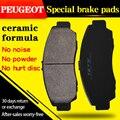 Para Peugeot 206CC【2001-2007】1. 6L pastillas de freno delanteras y traseras