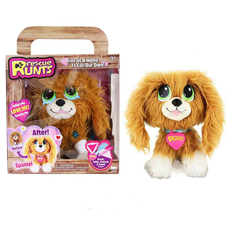 Rescue RUNTSe Plush Toy Children Gift Animal Flea Dog Elves Elfe On The Shelf  Girl Toys For Kids 2018 Hot Gifts Kids Christmas
