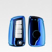 New Hot Selling TPU key case for car For Nissan X-Trail Juke Qashqai Micra Pulsar 2014 2015 2016 2017 2018 car accessories