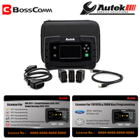2019 Autek IKEY820 Car Key programmer OBD2 tool with two licenses software for Ford Toyota and For G.M Grand Cheokee and Dodge