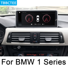 цена на For BMW 1 Series 2017~2019 EVO Android car multimedia player Navigation Navi GPS BT Support 4G 3G WiFi Radio stereo WIFI MAP
