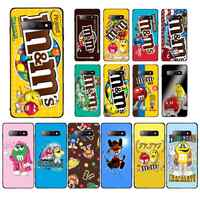 YNDFCNB M&M's Chocolate Nutella Bottle Mobile Phone Case for Samsung S5 6 7 edge 8 9 10 20 plus lite case