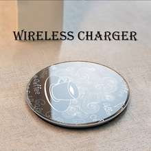 Qi Wireless Charger Pad 10W Charge For iPhone XS XR Huawei Samsung S10 Xiaomi Fast Charging Holder
