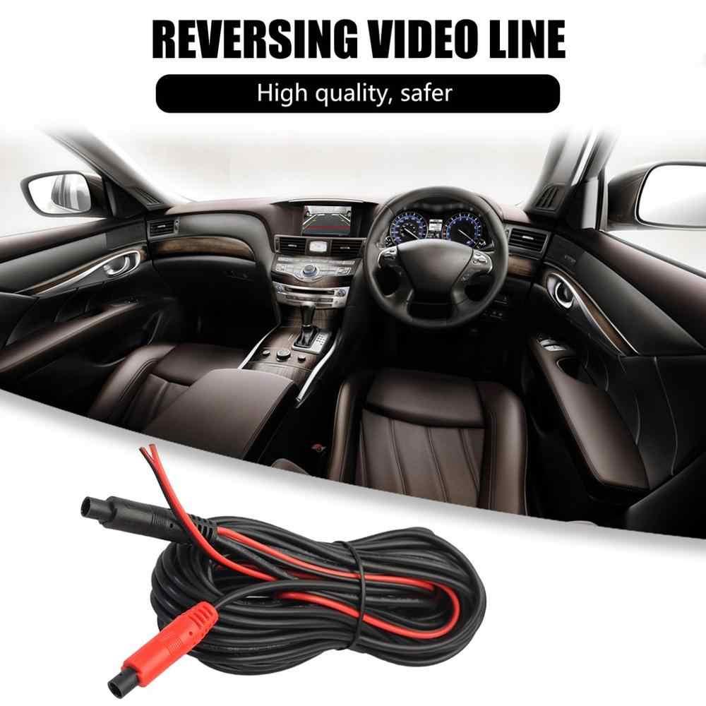4 M/6 M coche marcha atrás cámara de aparcamiento Cable de vídeo con disparador de vídeo Cable de visión trasera para aparcamiento de coche Cable de monitoreo