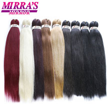 Mirras Mirror Easy Pre Stretched Jumbo Braids Hair Ombre Braiding Hair Extensions Synthetic Crochet Hair