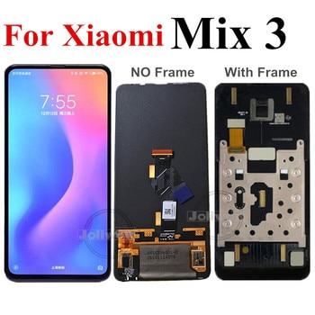 "6,39 ""LCD Original para Xiaomi Mi Mix3 pantalla LCD Pantalla de Panel táctil digitalizador asamblea para Xiaomi Mix3 miMix 3 MI MIX 3 LCD"