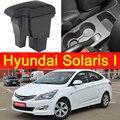 Для Hyundai Solaris 1 2011-2016 подлокотник Универсальный Автомобильный Центральный пульт caja аксессуары для модификации двойной приподнятый с USB