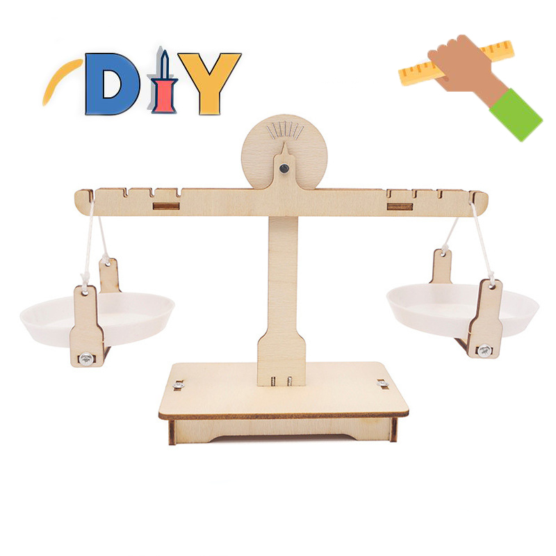 Math Match Game Board DIY Manual Toys Match Balancing Scale Number Balance Game Kids Educational Toy To Learn Add And Subtract