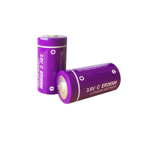 Image 2 - 3 個 3.6 v 9000mah er 26500 電池小学校 c Li SOCl2 batteria ER26500 貯蔵寿命 10 年優れた LR14 r14P 1.5 v c バッテリー