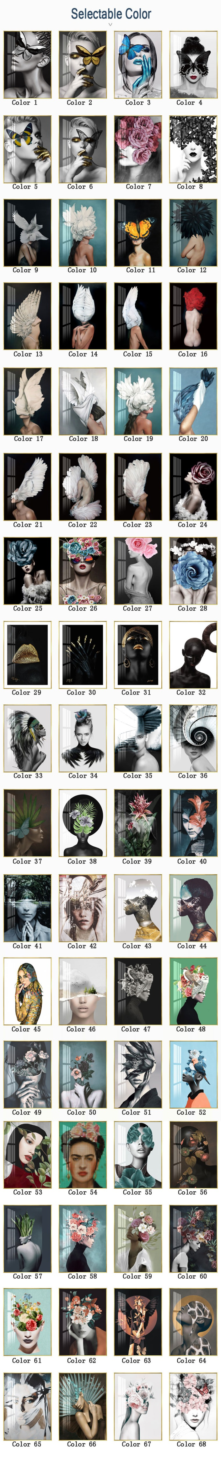 H6984cda2057249a0994cf0411a2a6036Q Modern Nordic Black And White Canvas Painting Art Print Wall Poster Abstract Girl Wall Pictures Wall Art for Bedroom Living Room